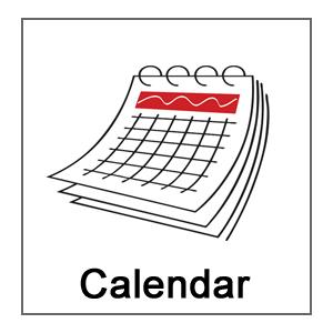 See the calendar